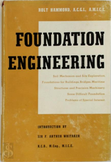 Foundation Engineering - Rolt Hammond