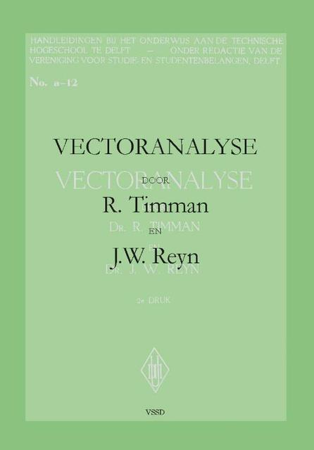 Vectoranalyse - R. Timman, J.W. Reyn