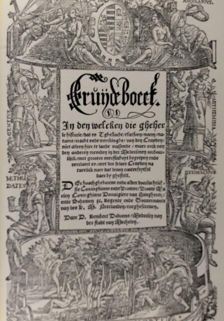 Cruijdeboeck [Facsimile] - Junius Rembertus Dodoens