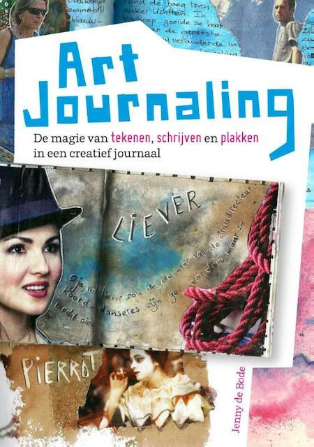 Art journaling - Jenny de Bode