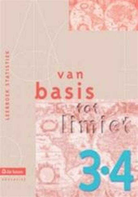 Van basis tot limiet 3/4 - aso - leerboek statistiek - Philip e.a. Bogaert
