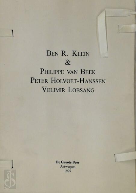 Gedichten - Ben R. Klein, Philippe van Beek, Peter Holvoet-Hanssen, Velimir Lobsang