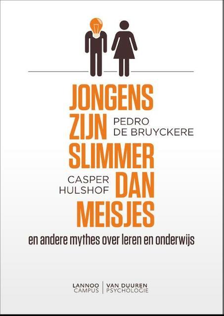 Jongens zijn slimmer dan meisjes - Pedro De Bruyckere
