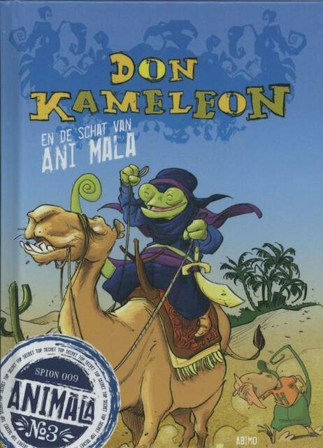 Don Kameleon en de schat van Ani Mala - Nico de Bavo / Braeckeleer Dhooge