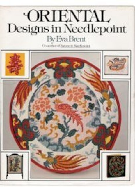 Oriental Designs in Needlepoint - Eva Brent