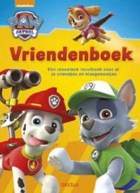 Paw Patrol vriendenboek -