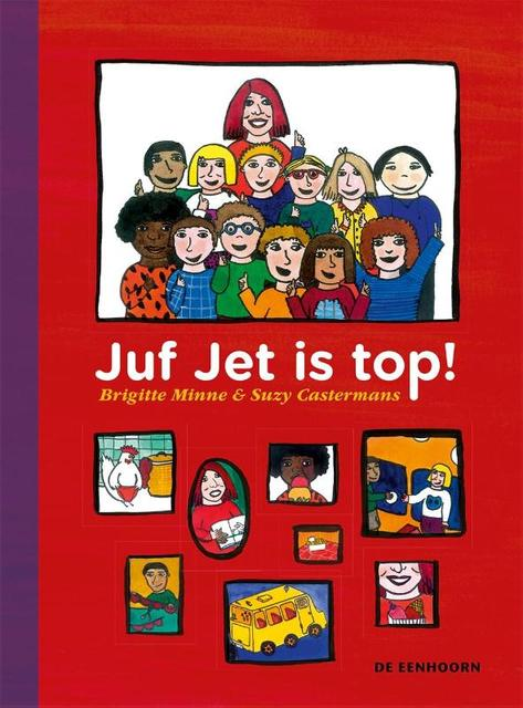 juf jet is top - Brigitte Minne