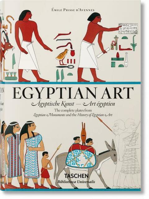 Egyptian Art - Émile Prisse D'Avennes