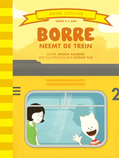 Borre neemt de trein - Jeroen Aalbers