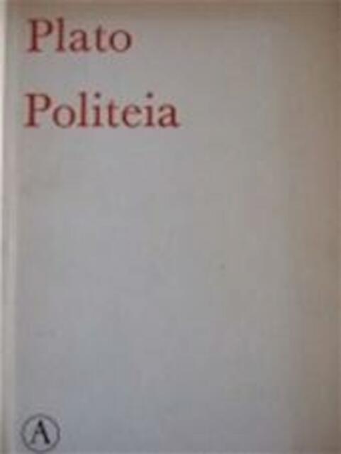 Politeia - Plato, Gerard Vert. Koolschijn