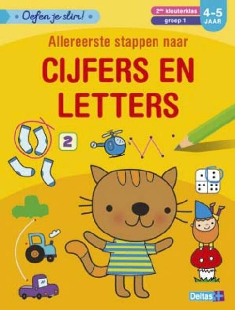Oefen je slim! Cijfers en letters (4-5 j.) - ZNU