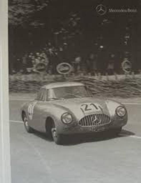 Mercedes-Benz 300 SL Racing Sports Car - Milestones of Motor Sports, Vol. 2. - Ag Daimler