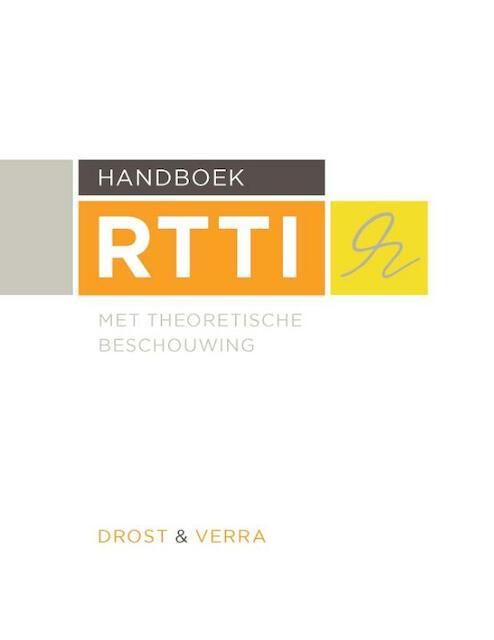 Handboek RTTI - Marinka Drost, Petra Verra
