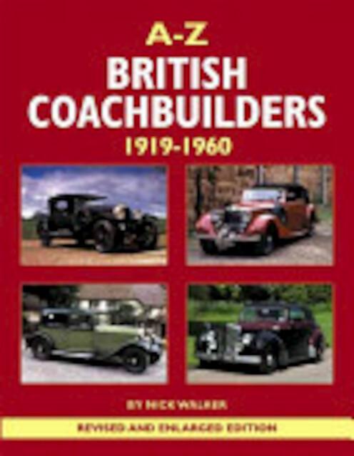 A-Z British Coachbuilders - Nick Walker