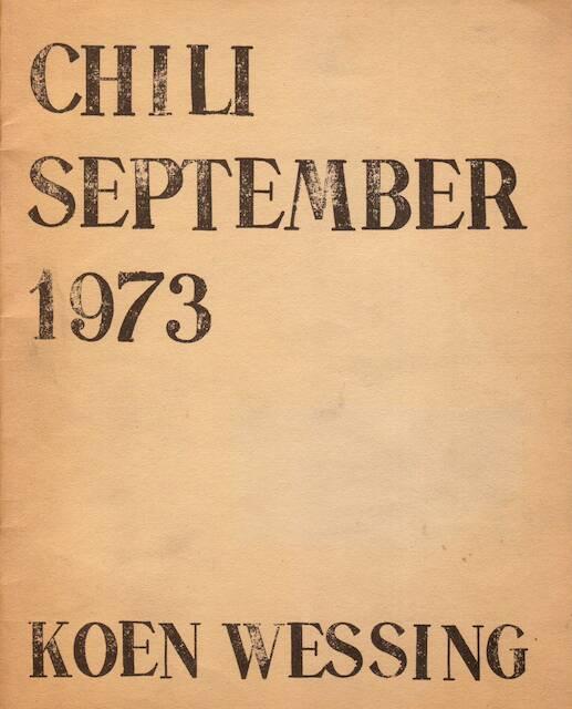 Chili september 1973. - Koen Wessing