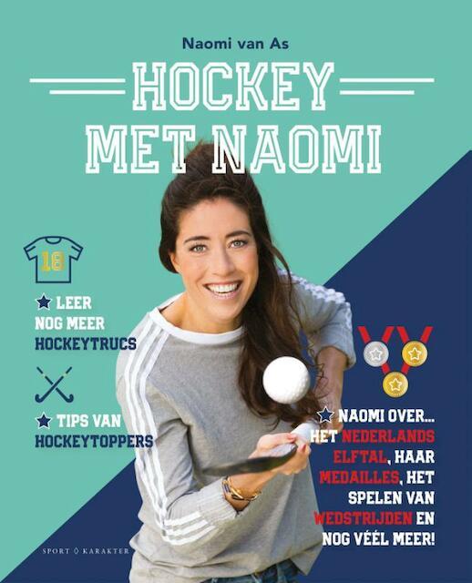 Hockey met Naomi - Naomi van As