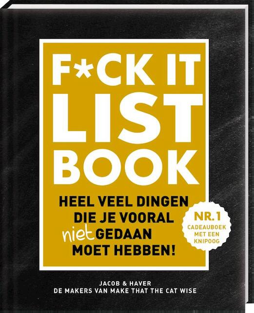 F*CK-it list - Jacob & Haver