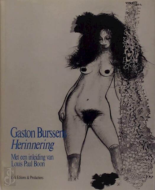 Herinnering - Gaston Burssens, Louis Paul [inl.] Boon