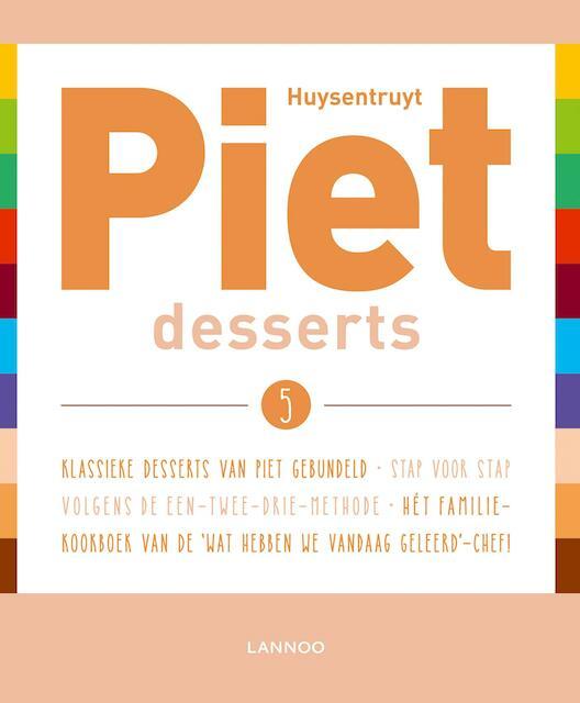 Desserts - Piet Huysentruyt