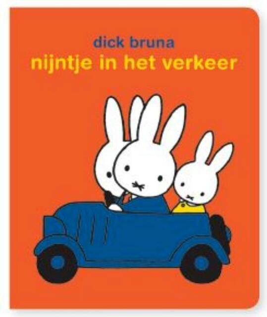 stickerboek nijntje in het verkeer - Dick Bruna