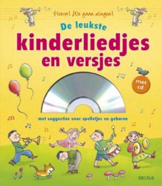 De leukste kinderliedjes en versjes met CD - ZNU