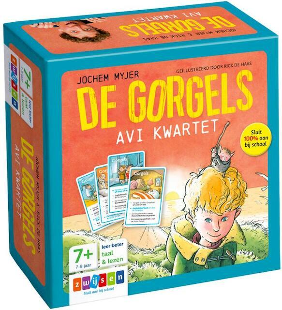 DE GORGELS AVI KWARTET - Jochem Myjer