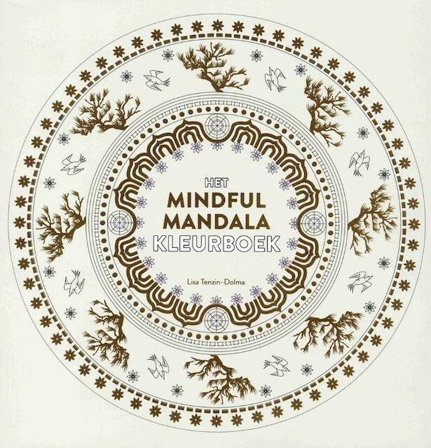 Het mindful mandala kleurboek - Lisa Tenzin - Dolma