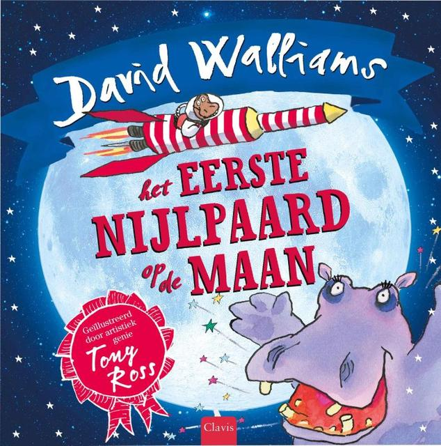 Het eerste nijlpaard op de maan - David Walliams