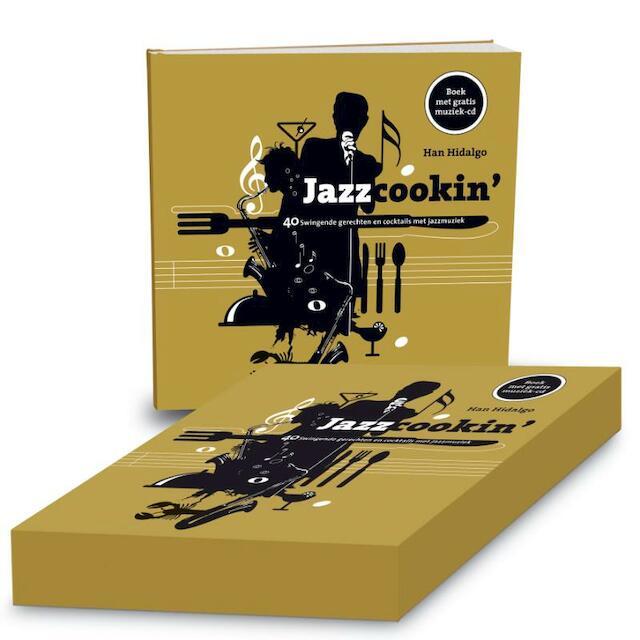 Jazzcookin' + cd - Han Hidalgo