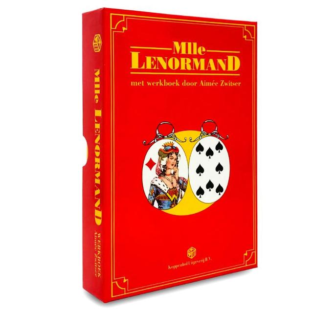 Lenormand waarzegkaarten set / originele uitvoering - A. Lenormand