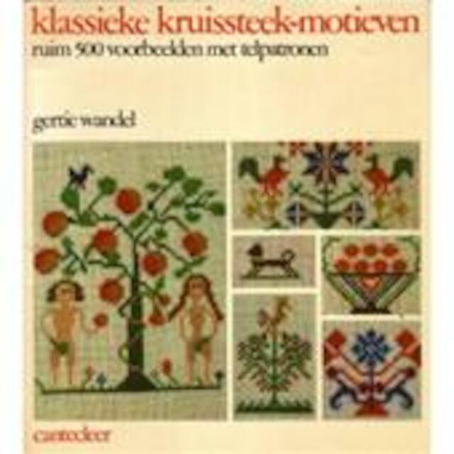 Klassieke kruissteek-motieven - Gertie Wandel, Eef Behrens