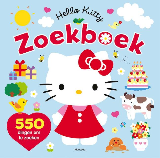 Hello Kitty Zoekboek -