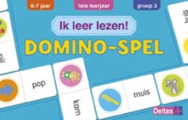 Ik leer lezen! Domino-spel (6-7 j.) - ZNU