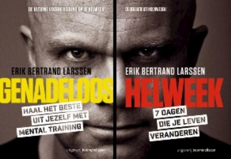 Helweek – Genadeloos, set 2 delen - Erik Bertrand Larssen