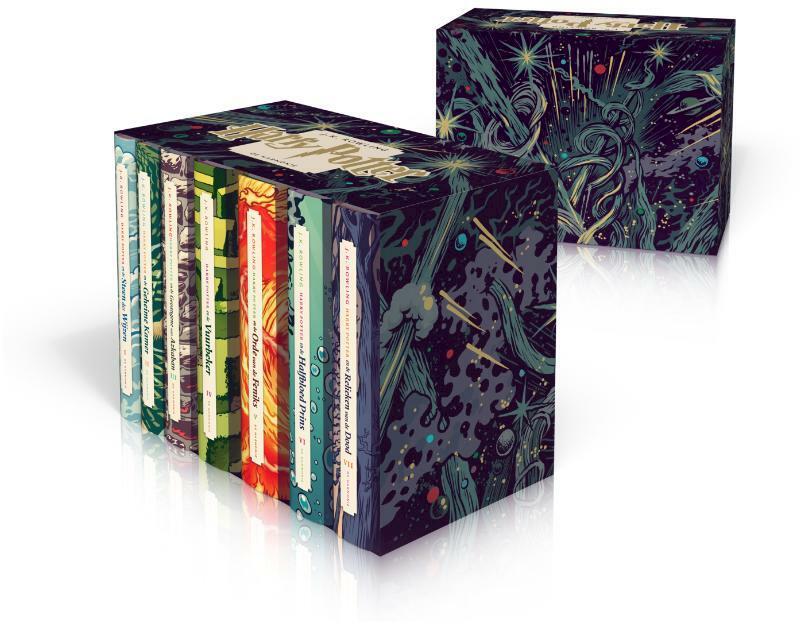 Harry Potter 20 jaar box 7 delen - J.K. Rowling
