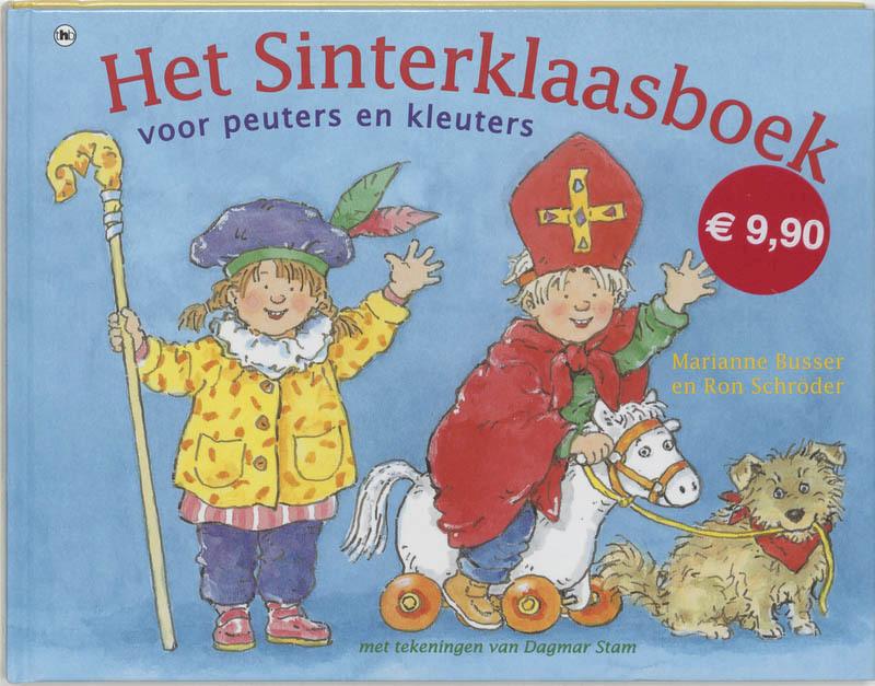Het Sint/kerstomdraaiboek peuters (kleuters) - M. Busser, R. Schroder