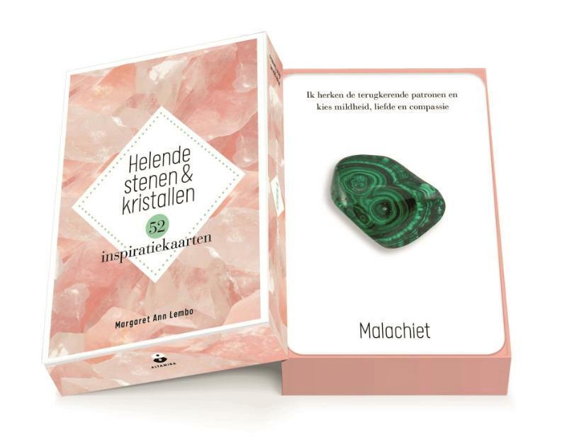 Helende stenen en kristallen Inspiratiekaarten - Margaret Ann Lembo